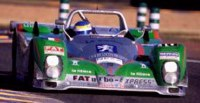 The Venerable Courage C52 is ineligable for the Rolex 24 partly due to its side exiting exhaust. Stupid Rules!
